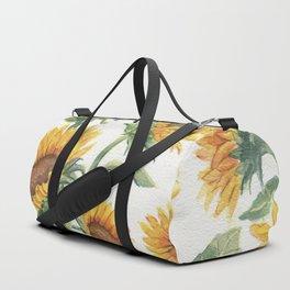 Blooming Sunflowers Duffle Bag