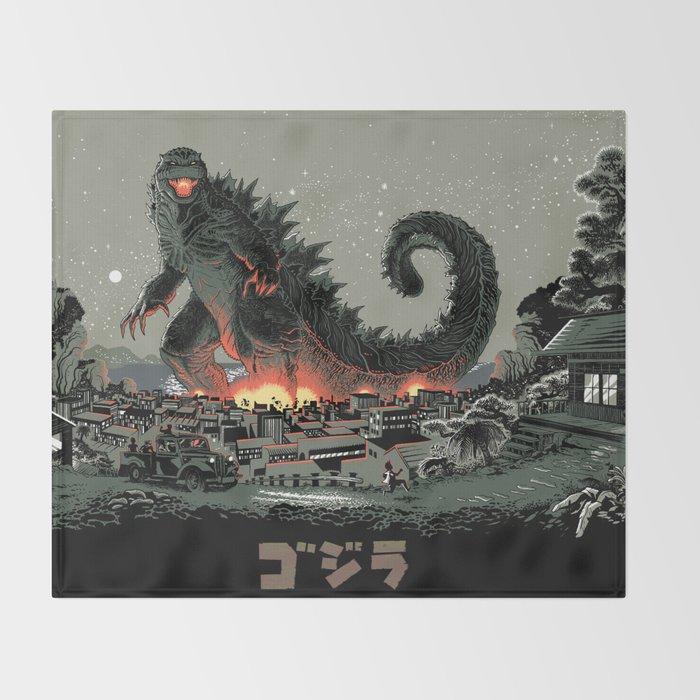 Godzilla - Gray Edition Throw Blanket