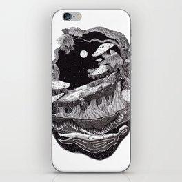 dark spirit of the nature collab franciscomff iPhone Skin
