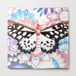 Surreal butterfly Metal Print