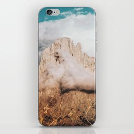 Mountains in Clouds.  Nature Landscape Photography iPhone Skin