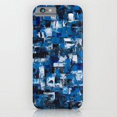 Blue Blade Painting Slim Case iPhone 6s