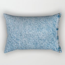 Jeans Pocket With Denim Texture, Jeans Texture, Denim Texture, Textured Background Cover, Pattern Rectangular Pillow