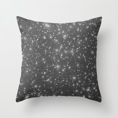 Logic Will Get You From Point A to Point B (Geometric Web/Constellations) Throw Pillow