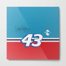 Richard Petty 43 NASCAR Metal Print