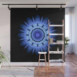 Blue Lotus Wall Mural