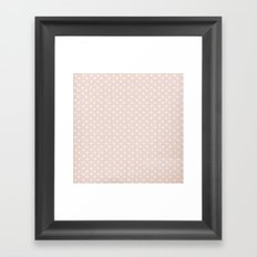 LOVERS DOTS Framed Art Print