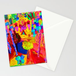 Colorful Feast | Kids Painting Stationery Cards