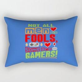 Gamer Men Rectangular Pillow