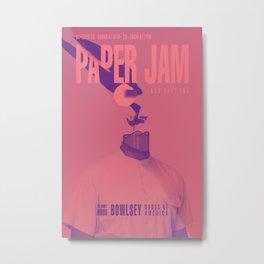 Paper Jam '15 III by Taylor Hale Metal Print