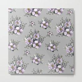 FLOWERS WATERCOLOR 22 Metal Print