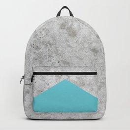 Concrete Arrow - Light Blue #206 Backpack