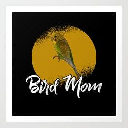 Bird Mom Art Print