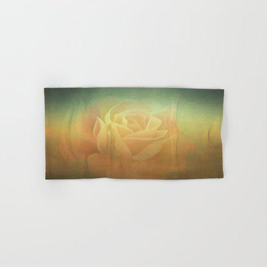 Evening Rose Shadows Hand & Bath Towel
