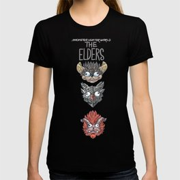 Monster Hunter World Elder Dragons Dropdown Version T-shirt