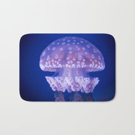 Jellyfish Mushroom Bloom - Photography Bath Mat