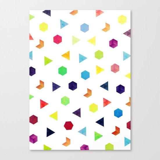 Random Geometry Canvas Print