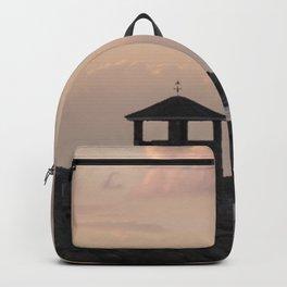 Sunset gazebo Backpack