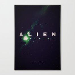 'Alien: Covenant' film poster Canvas Print