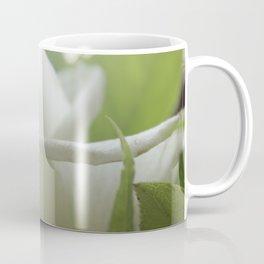 white and green flore Coffee Mug