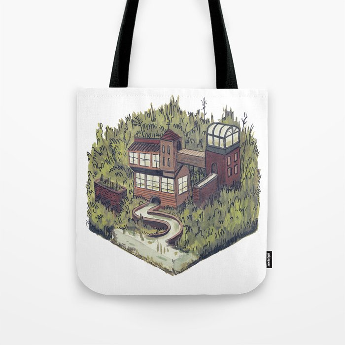 Squared Landscape II Tote Bag