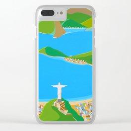 SUGAR LOAF IN RIO DE JANEIRO Clear iPhone Case