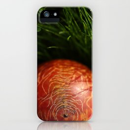 kaki iPhone Case