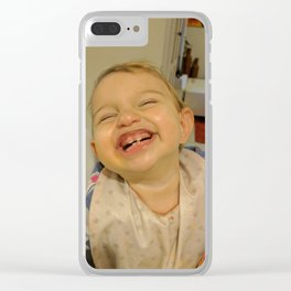 Happy Kid Clear iPhone Case