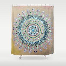 Mursy Hill Wish Board Mandala Shower Curtain