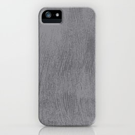 Textured Gray iPhone Case