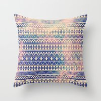 threadless Throw Pillows featuring Substitution by Mason Denaro