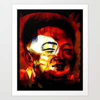 Li'l Kim Art Print
