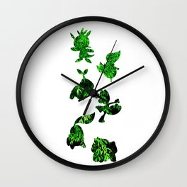Grass Types Wall Clock