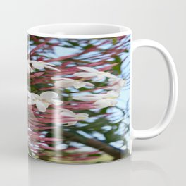 Pink Buds and Jasmine Blossom Close Up Coffee Mug