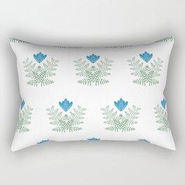 Flower Inspired by Dutch patterns Rectangular Pillow