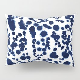 Navy Dalmatian Pillow Sham