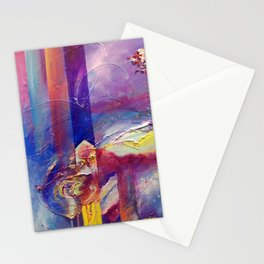 Eye of the Storm by Nadia J Art Stationery Cards