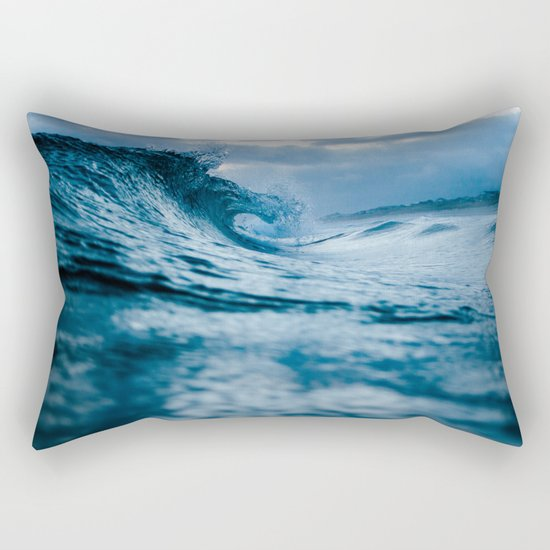 Wave 5 Rectangular Pillow