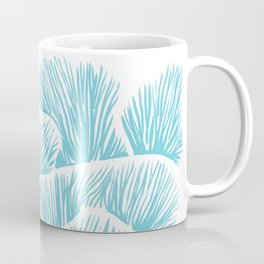 Mushroom Bouquet - Light Blue Coffee Mug