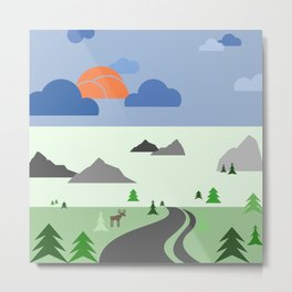 Wilderness eScape Metal Print