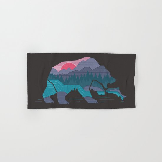 Bear Country Hand & Bath Towel