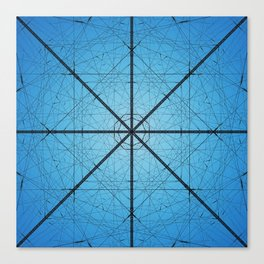 Tower Symmetry Canvas Print