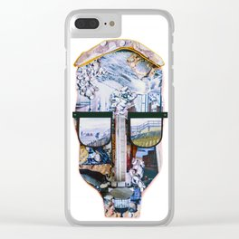 Luca Brasi (LB) Clear iPhone Case