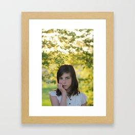 Green II  Framed Art Print