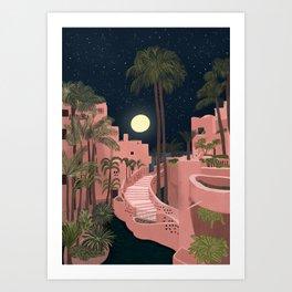 Tenerife at night Art Print