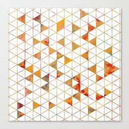Isometric Canvas Print