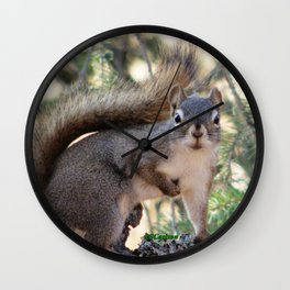 And Who Are You? Wall Clock