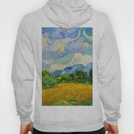 Wheat Field with Cypresses Vincent van Gogh Oil on canvas 1889 Hoody
