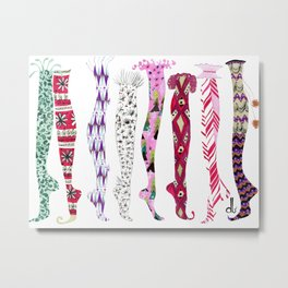 Those Old Christmas Socks Metal Print