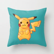 Pizzachu Throw Pillow